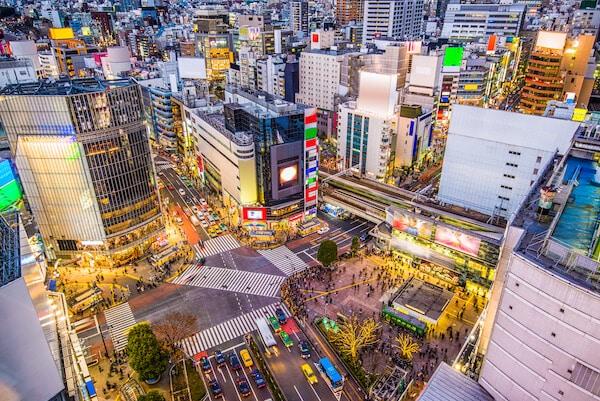 Shibuya Station Tokyo, Japan