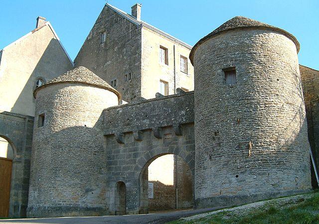Bourgogne-Franche-Comté town gates, France