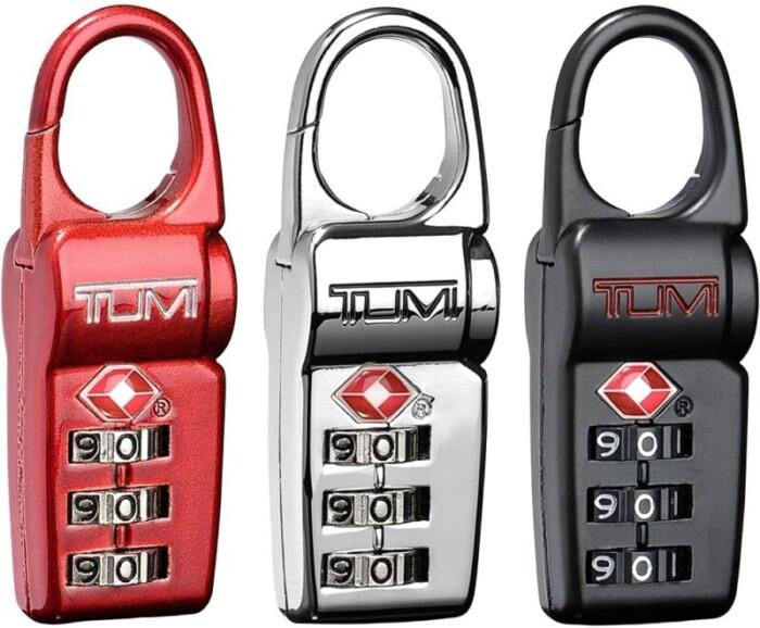 Tumi travel locks