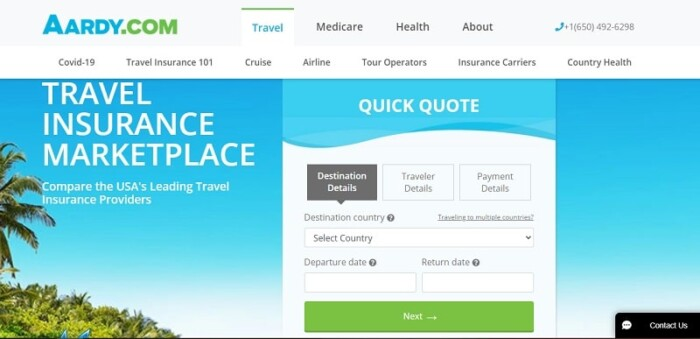 Aardy travel insurance review