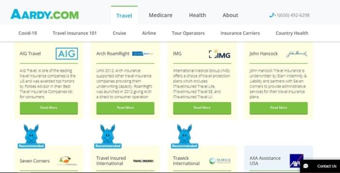 Aardy insurance providers
