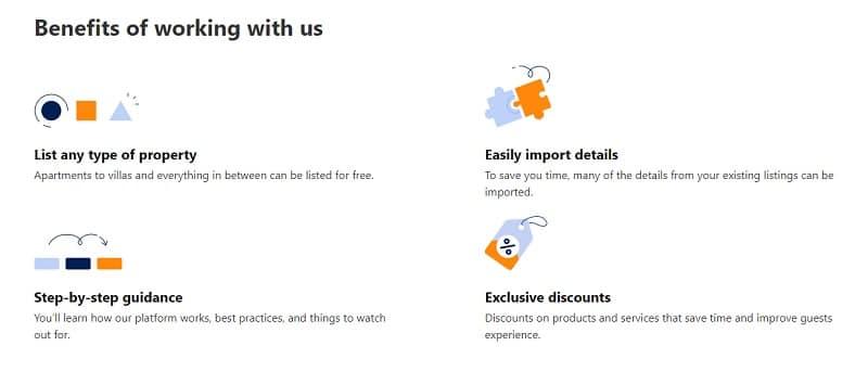 Booking.com listing