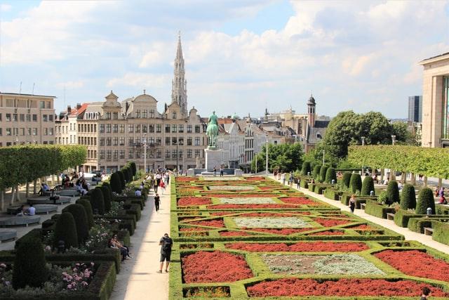 Gardens in Brussels