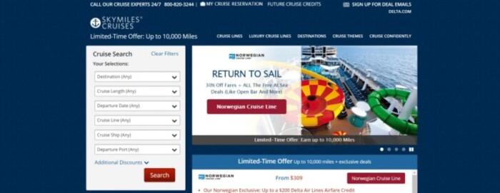 Delta SkyMiles Cruises