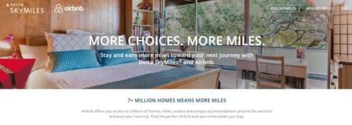 DeltaAirbnb website