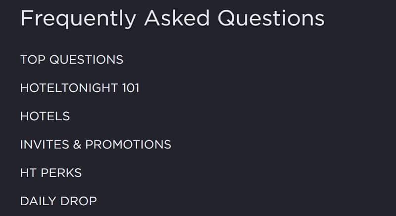HotalTonight FAQs