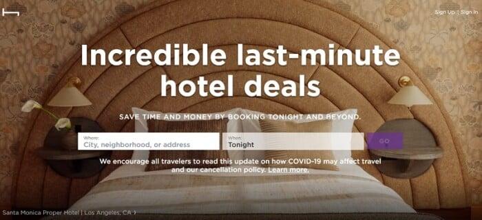 HotelTonight Review