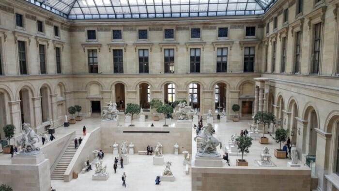 Interior of Louvre
