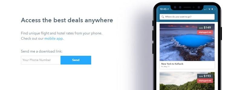 skiplagged app