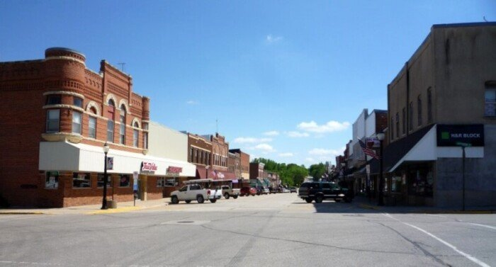Spring Valley downtown