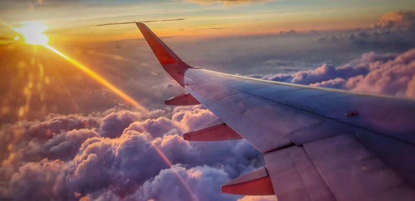Travel via plane