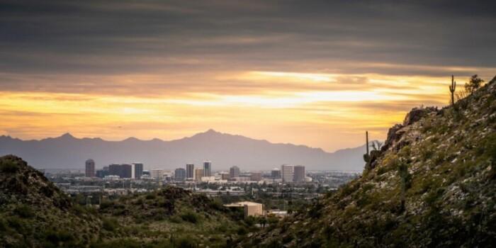 full city view of Phoenix