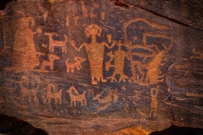 rock drawings in las vegas