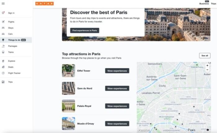 Things to do in Paris on Kayak
