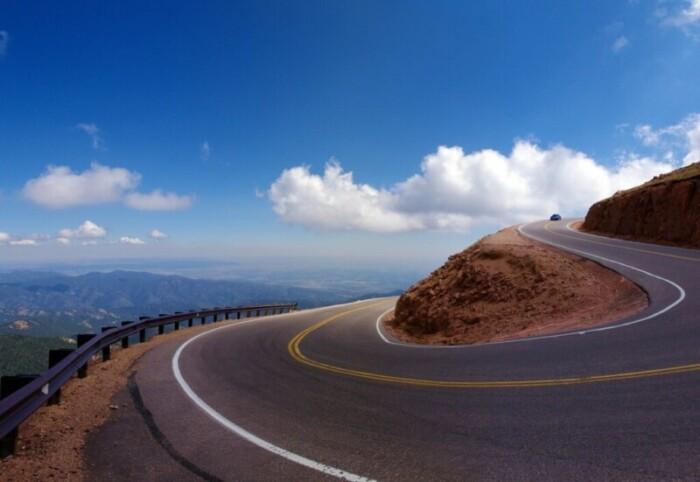 one day in colorado springs | Pikes Peak Highway