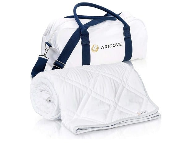 Aricove Weighted Travel Blanket