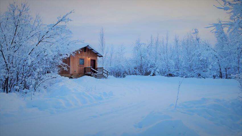 Cabin in Fairbanks, Alaska