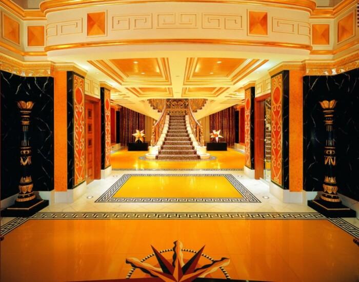 Hotel Burj Al Arab indoors