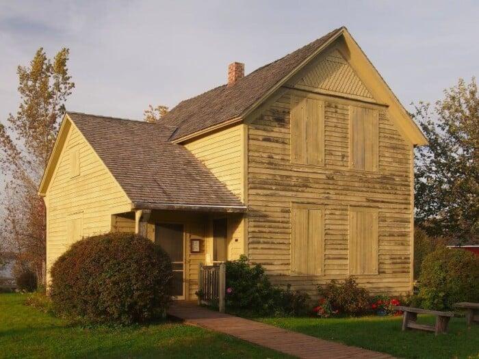 Karl Oskar House in Ki Chi Saga Park,  Lindstrom, Minnesota