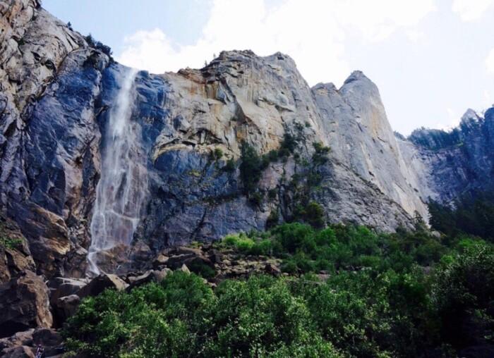 Bridalveil Fall in Yosemite
