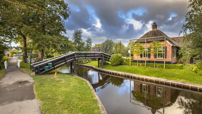 Canals in Giethoorn