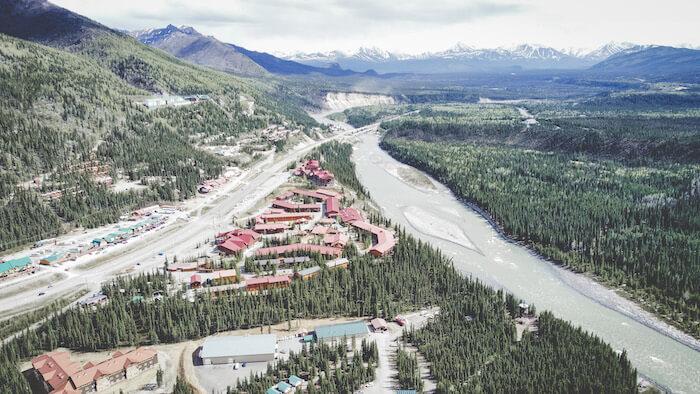 Denali, Alaska Aerial