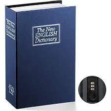 Diversion Dictionary safe lock box