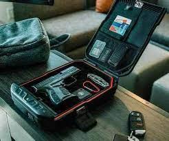 packed VAULTEK portable safe
