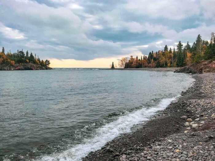 Duluth North Shore coastline