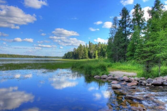 Lake at Itasca State Park