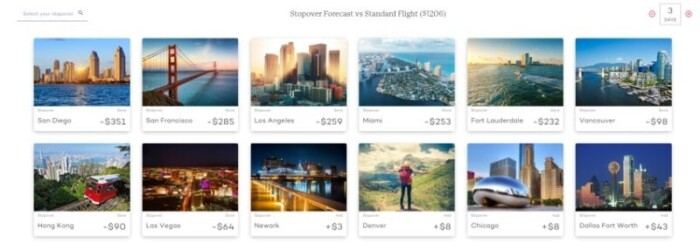 Airwander flight savings
