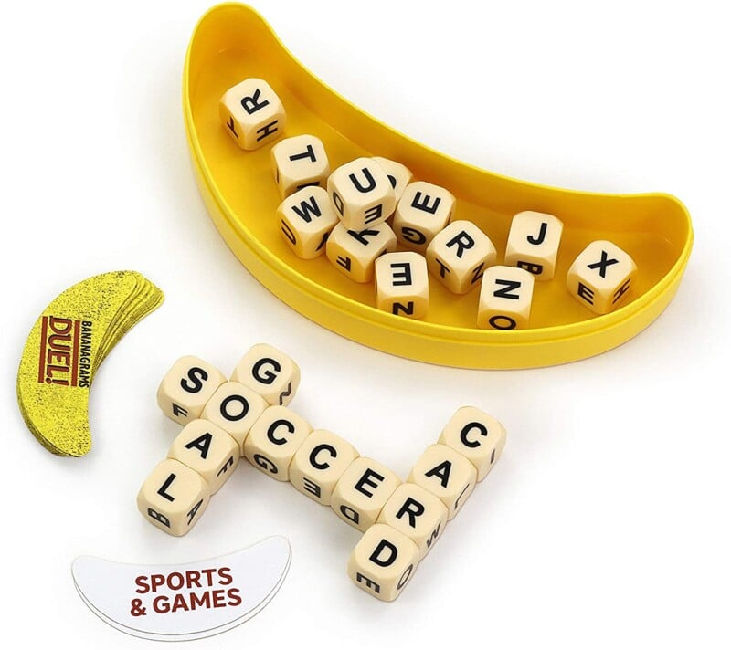 Bananagrams Duel: Ultimate 2 Player Travel Game