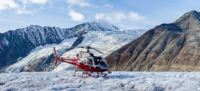 Denali Glacier Landing