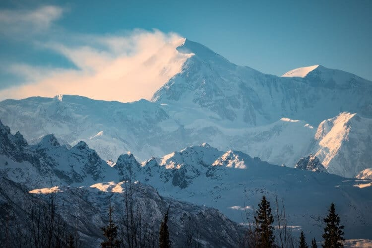 Denali National Park Mountains