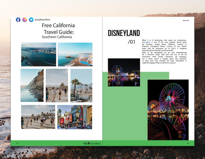 Free California Travel Guide Printable