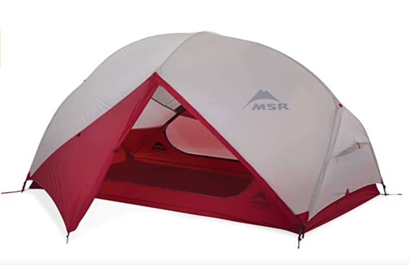 Red and White Hubba Hubba Tent