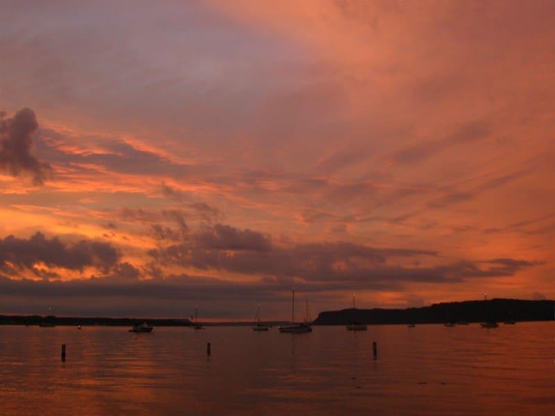 Lake Pepin Evening View