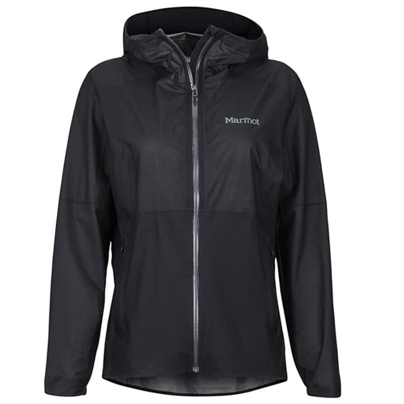 Marmot rain jacket in black