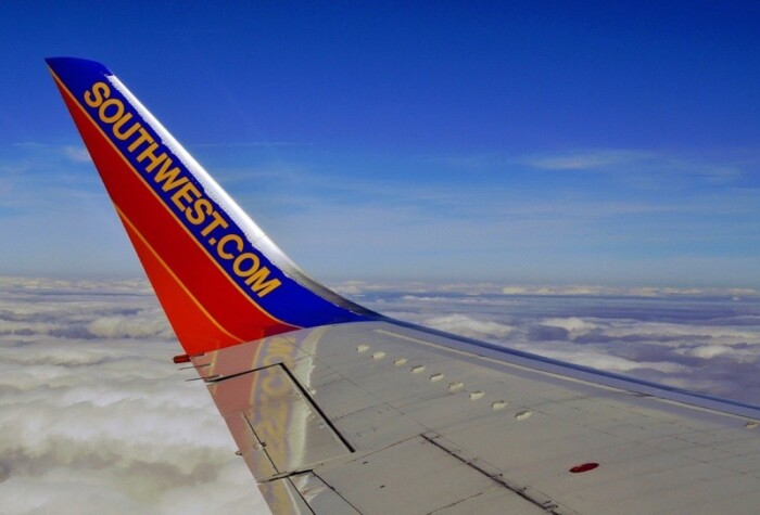 Wing of a Southwest plane