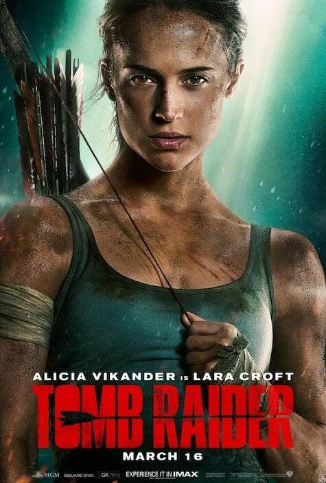 Tomb Raider Movie Cover