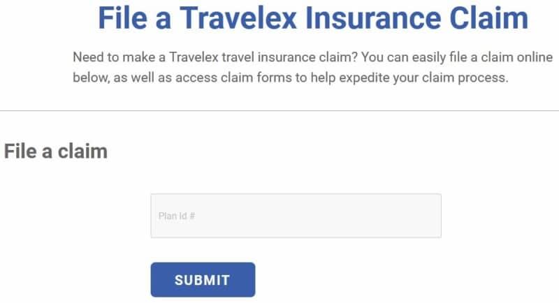 Travelex Claim