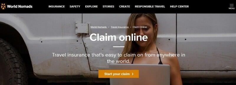 World Nomads Claim