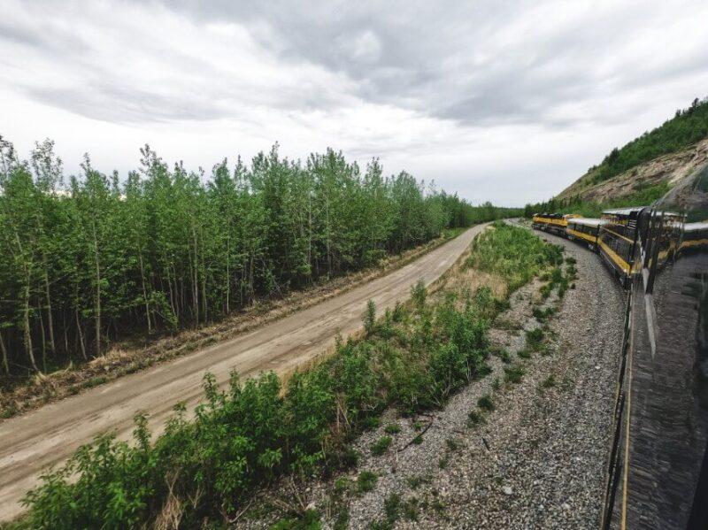 Alaska Railroad Denali National Park