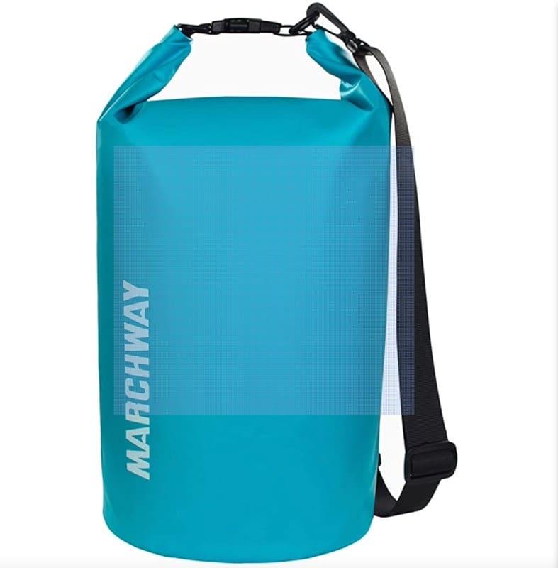 MARCHWAYwaterproof bag in aqua