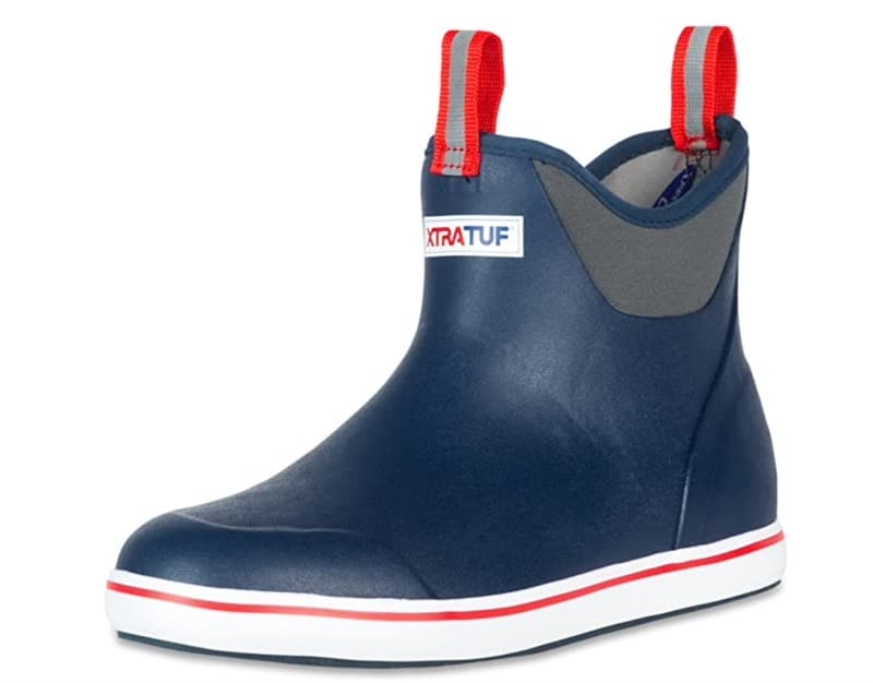 XTRATUF Boot in blue and red