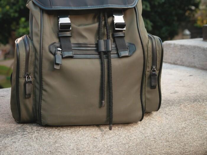a medium shot of a medium-sized carry on bag