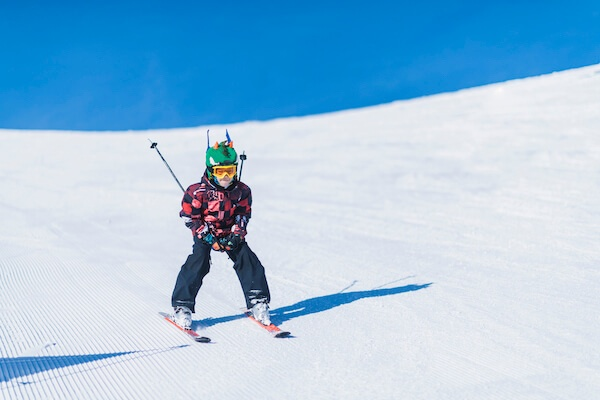 Child Skiing in Minnesota