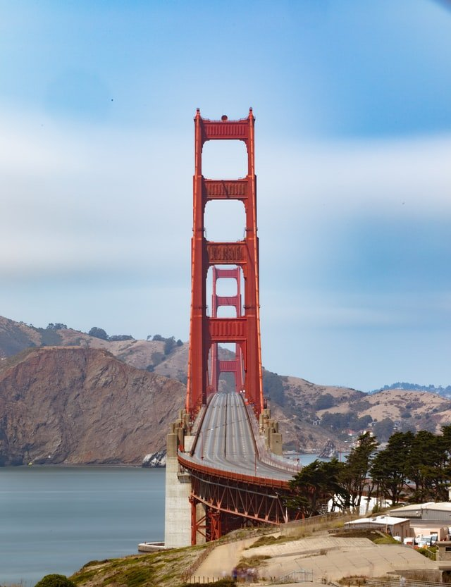another view of the Golden Gate bridge