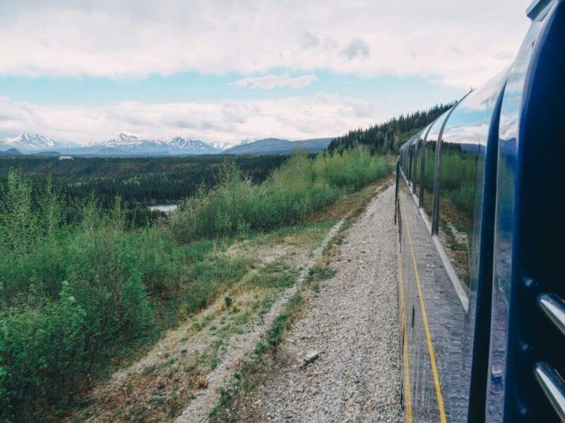 Riding Alaska Railroad
