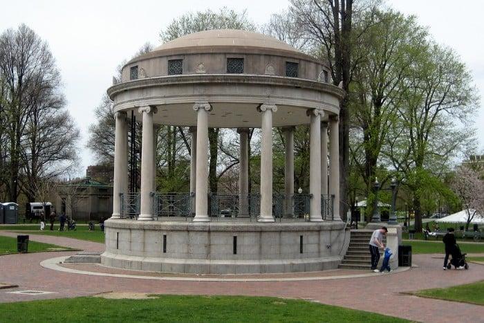Boston Common Parkman Bandstand